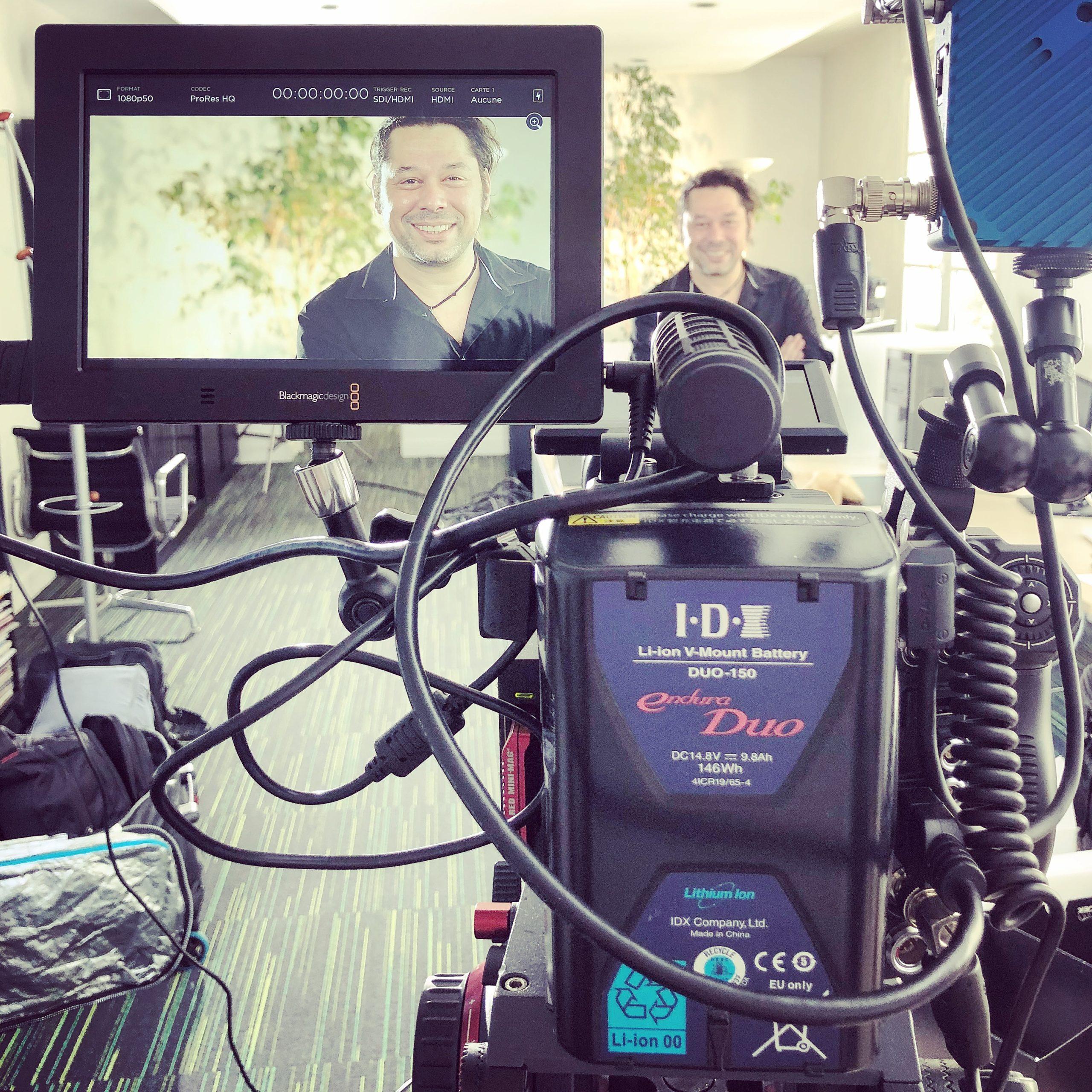 Agence vidéo interview