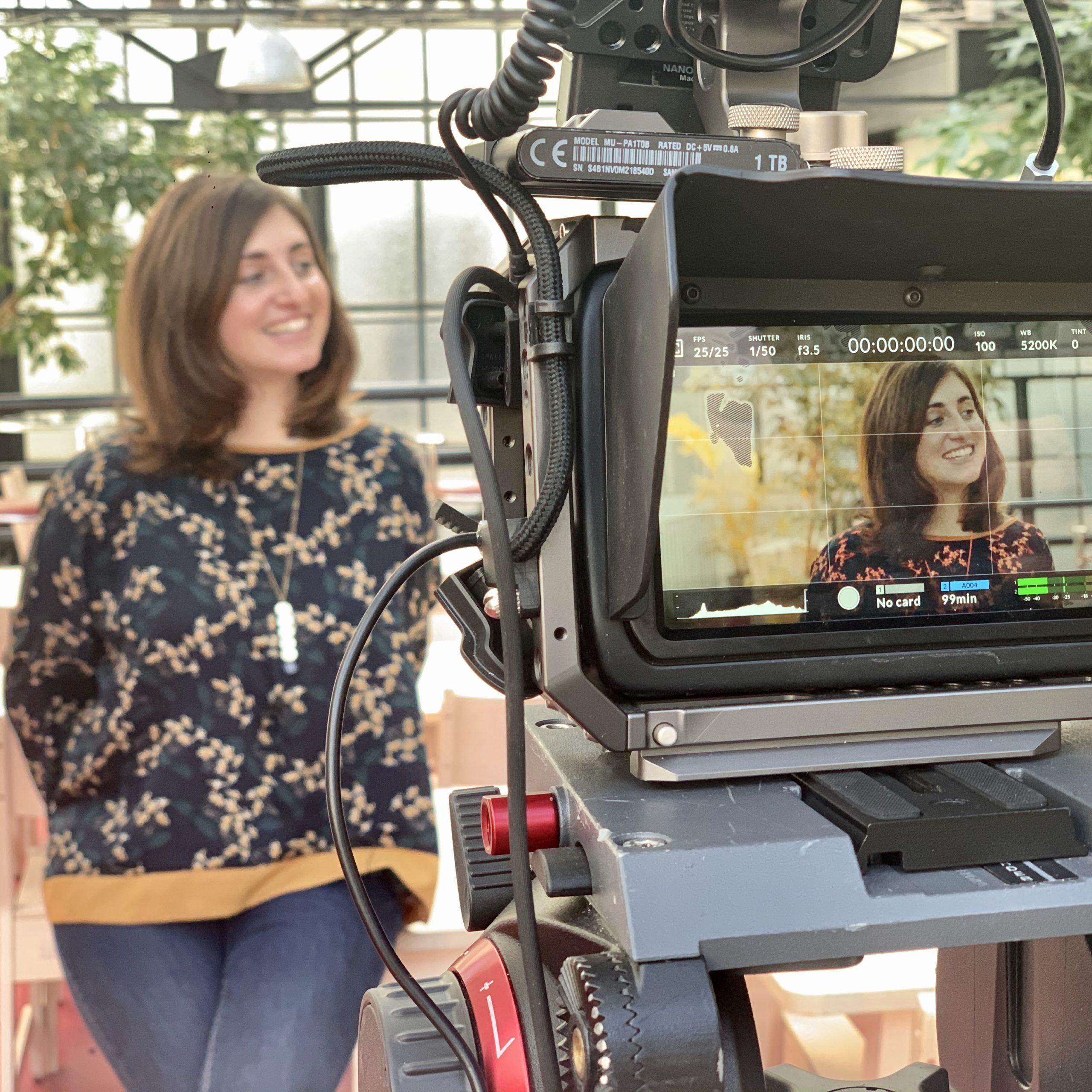 Agence vidéo film interview